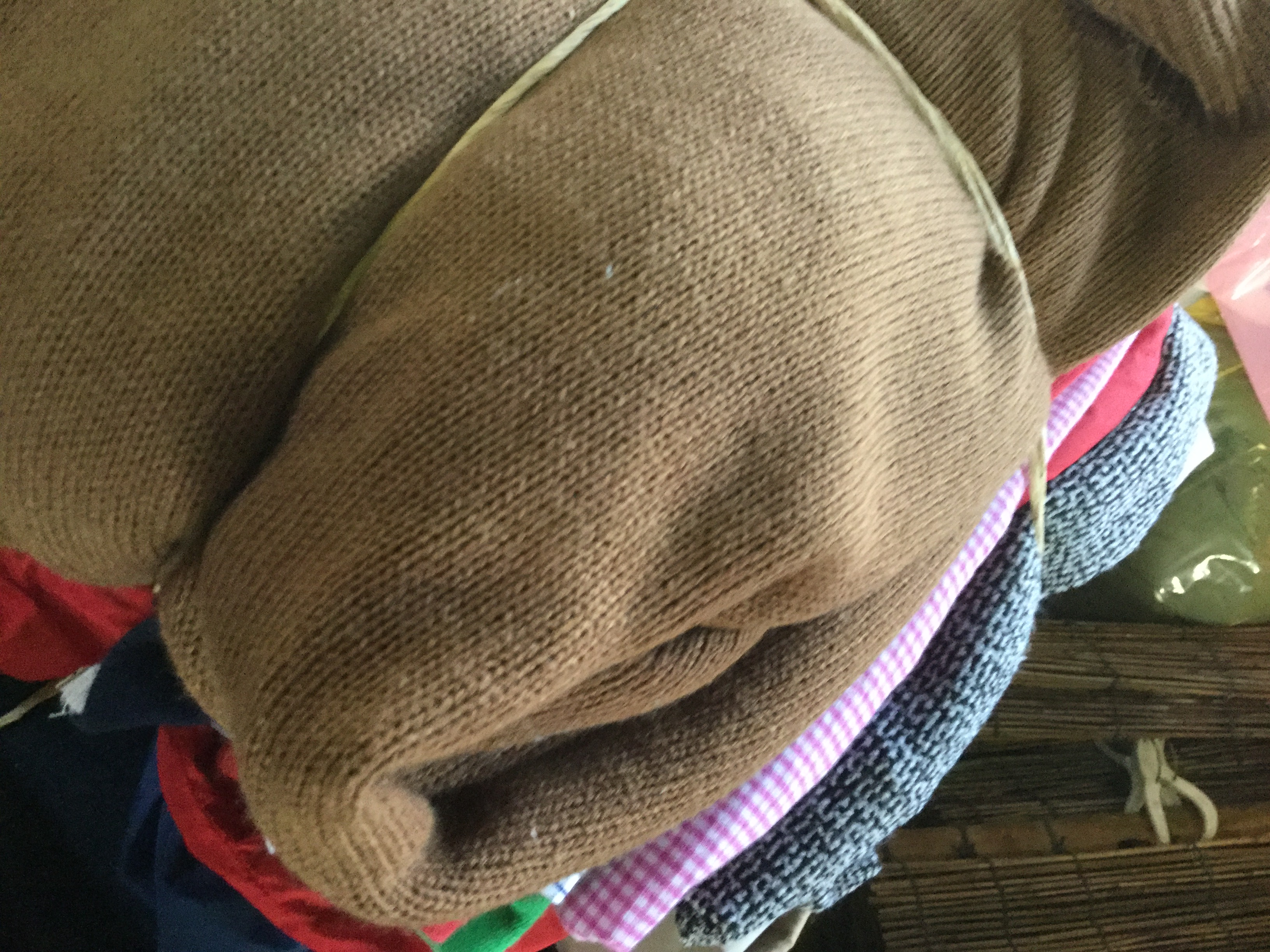 岡山市で不用品回収・処分した衣類