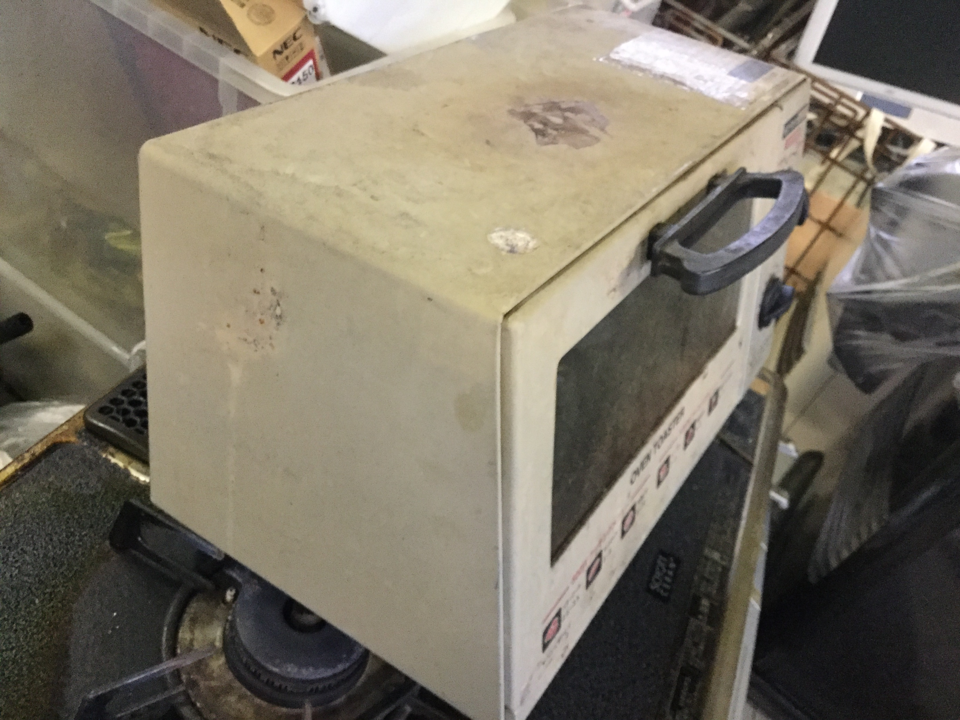 岡山市北区で不用品の回収・処分した電子レンジ