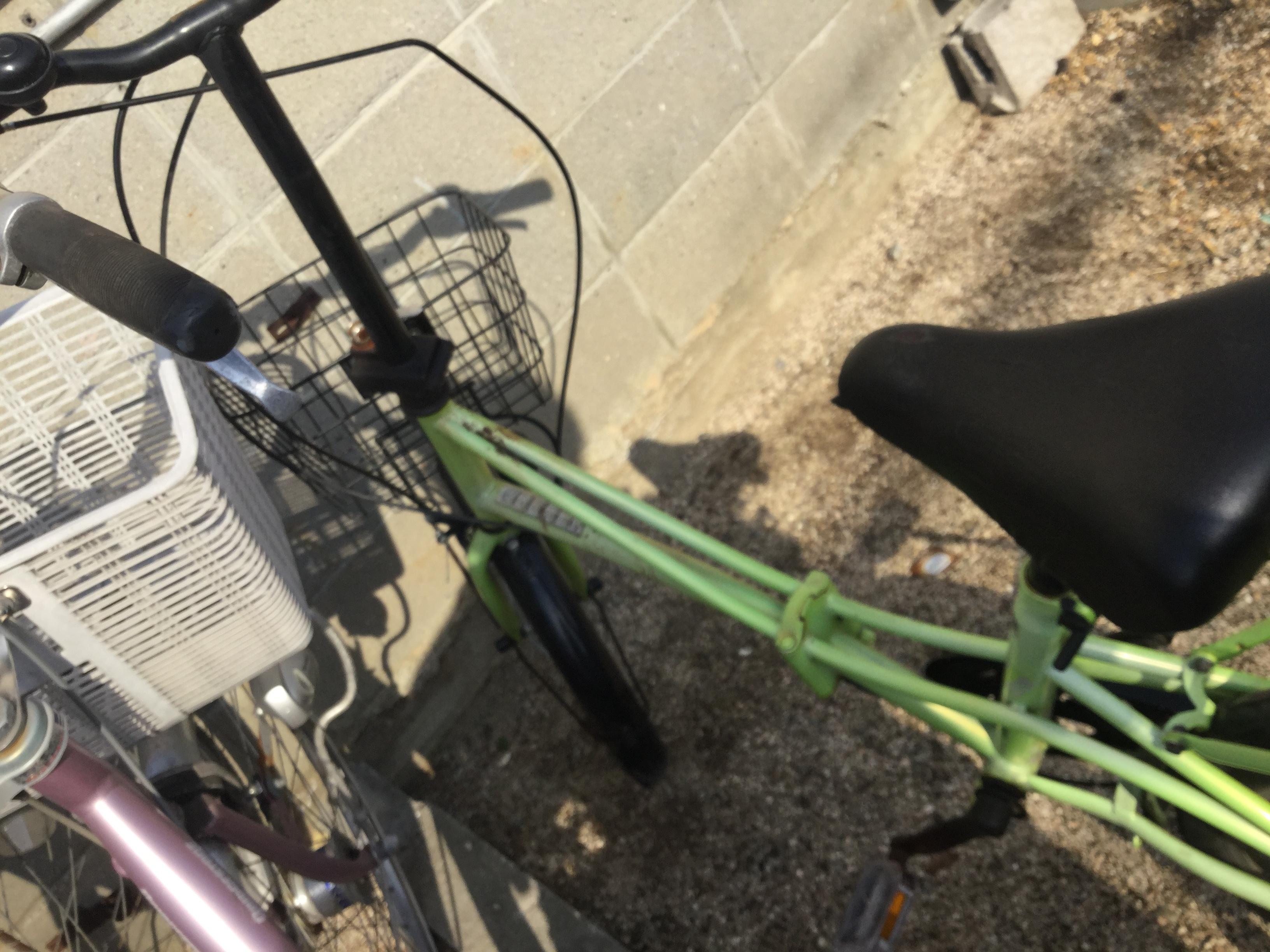 岡山市北区で不用品回収・処分した自転車