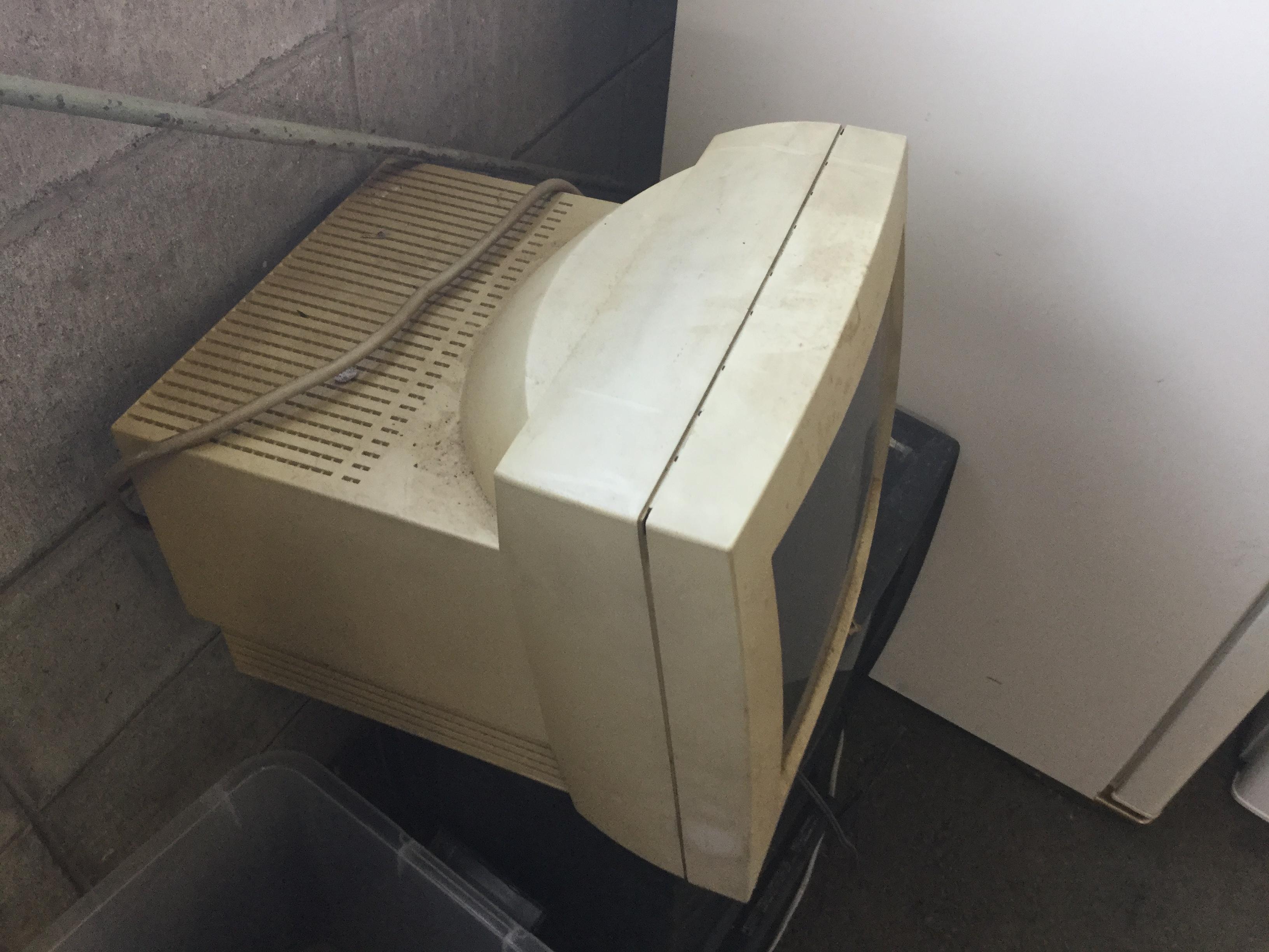 岡山市北区で不用品回収したパソコンモニター