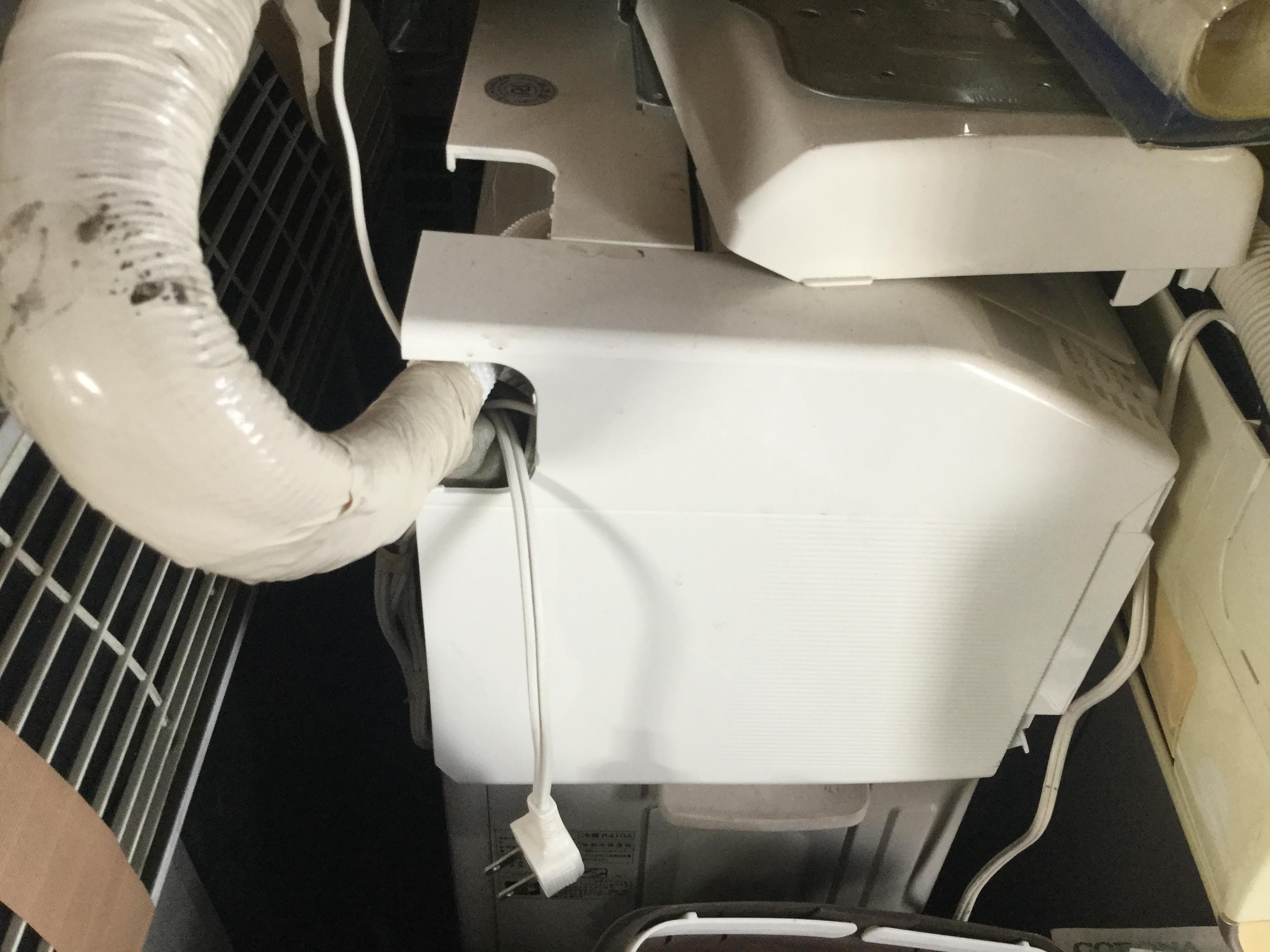 岡山市北区で不用品回収・処分したエアコン