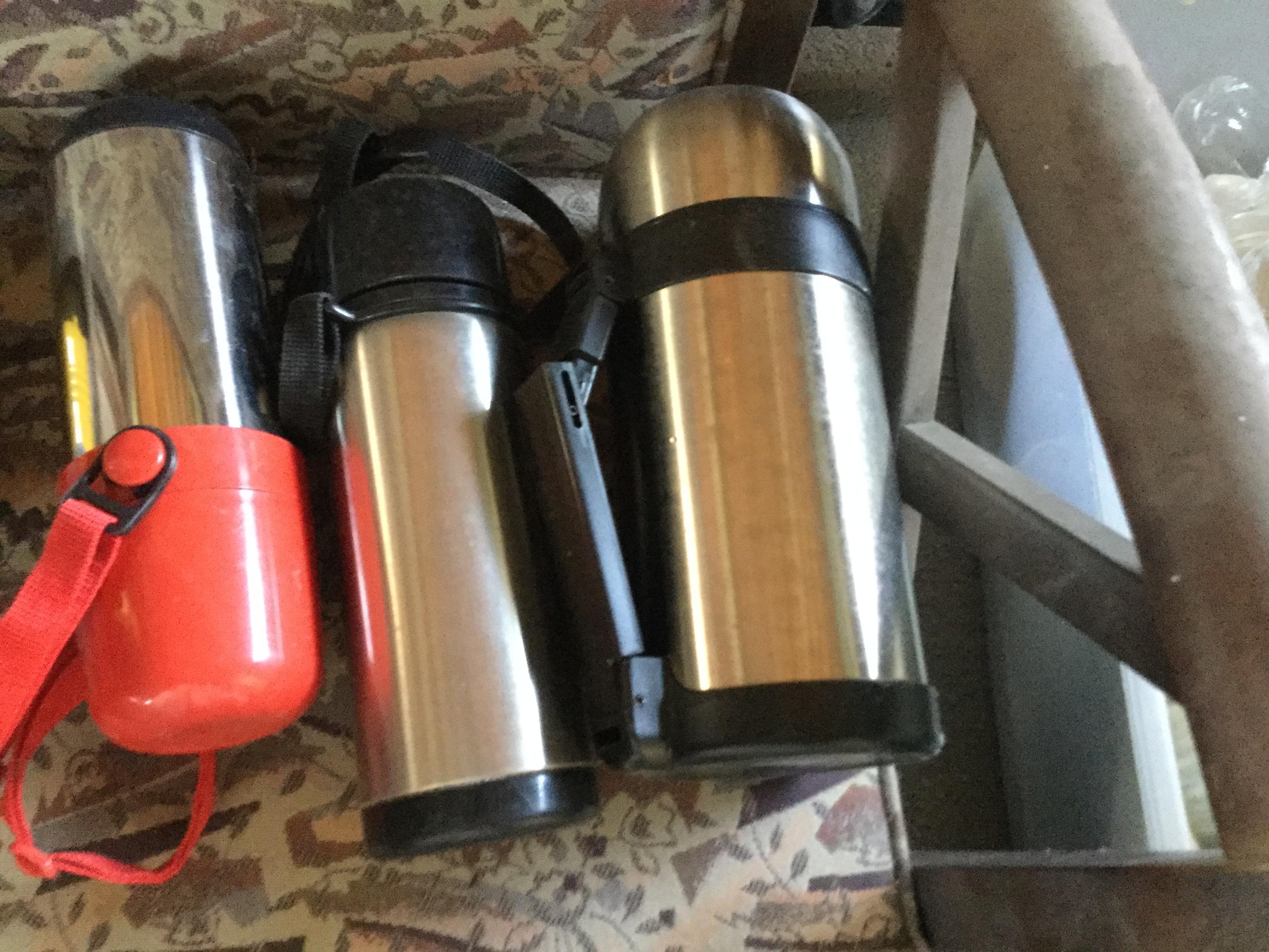 岡山市北区で不用品の回収・処分した水筒