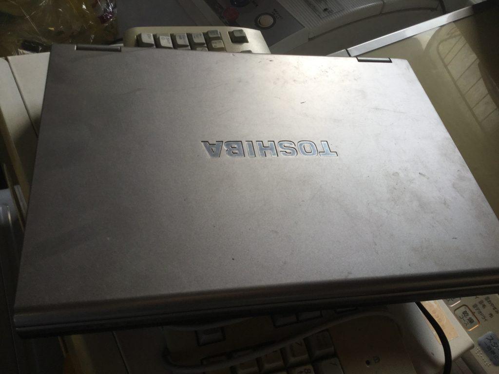 岡山市東区松新町付近で回収したパソコンです。
