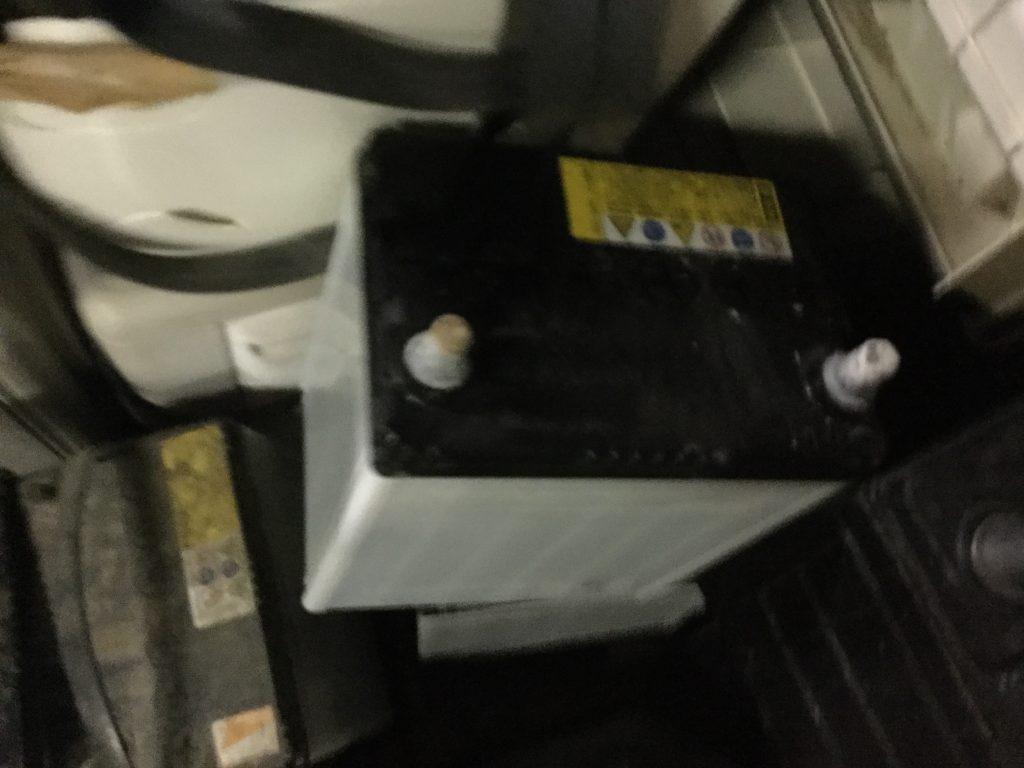 岡山市東区西大寺付近で回収したバッテリーです。