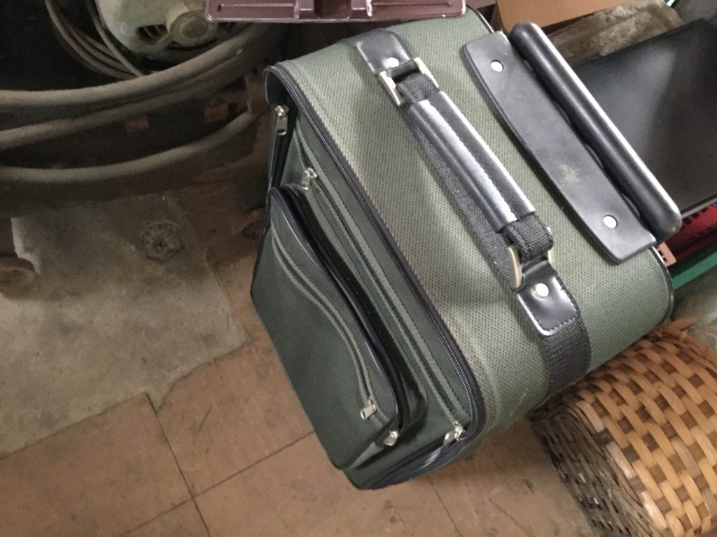 スーツケースです。
