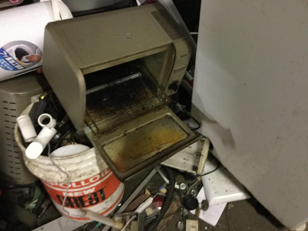 オーブントースターです。
