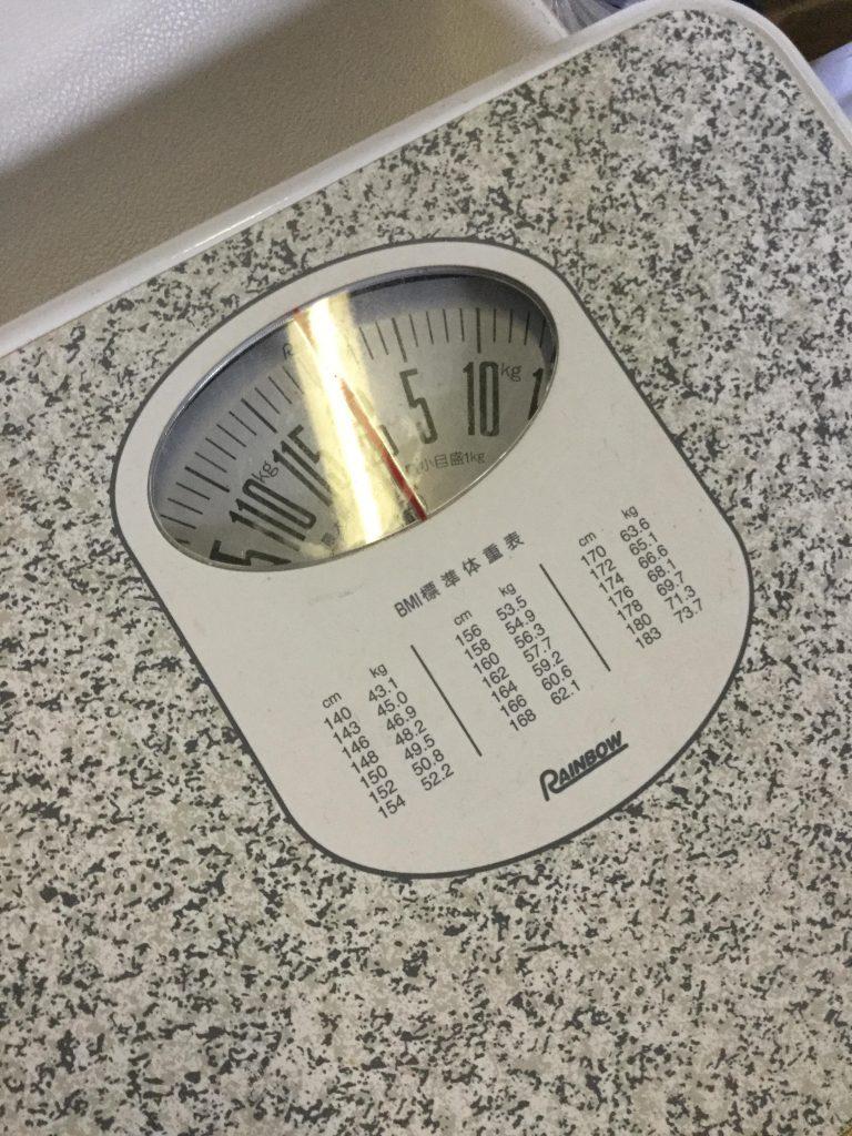 体重計です。