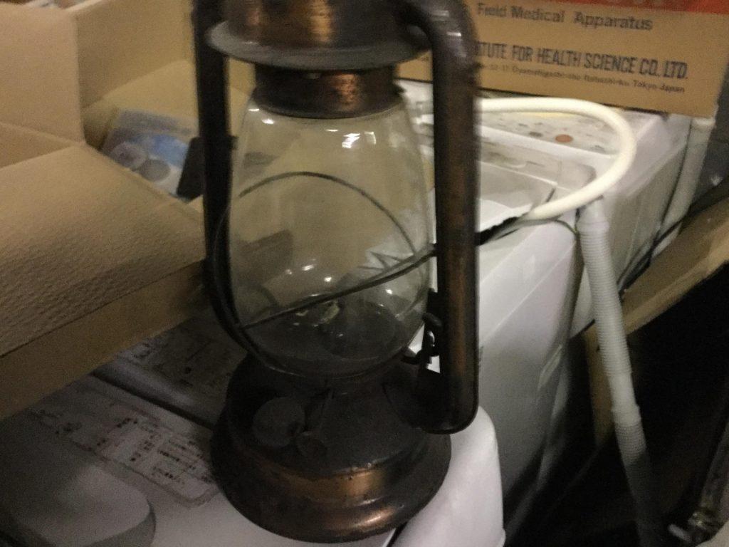 ランプです。