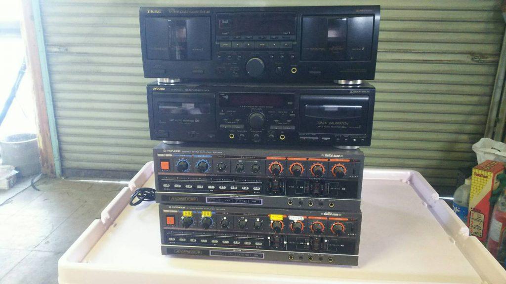 オーディオ機器です。