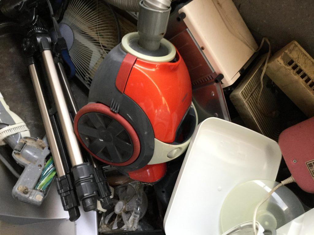 掃除機です。