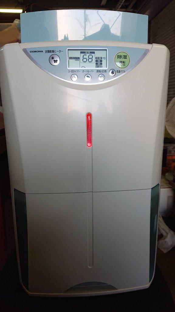 衣類乾燥機です。