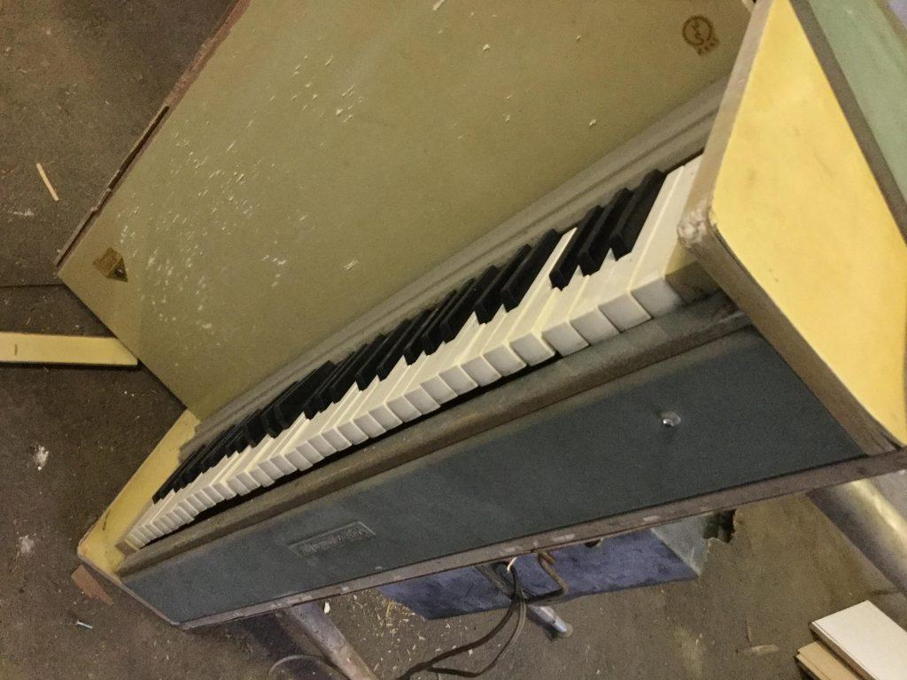 ピアノです。