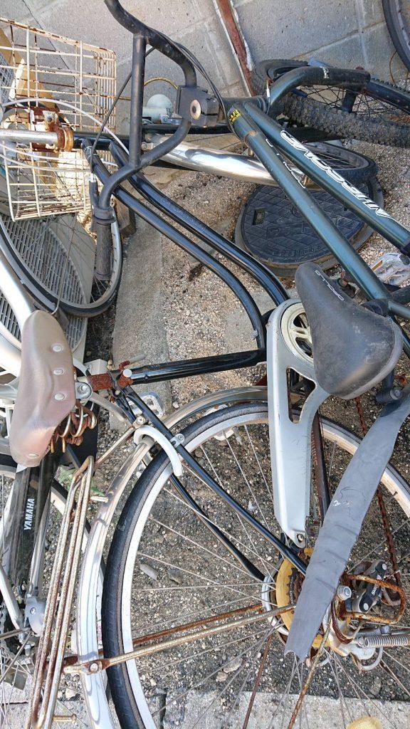 自転車です。