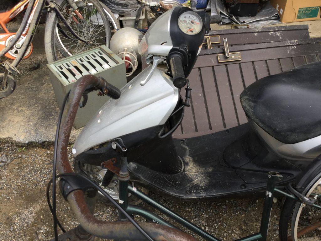 バイクです。