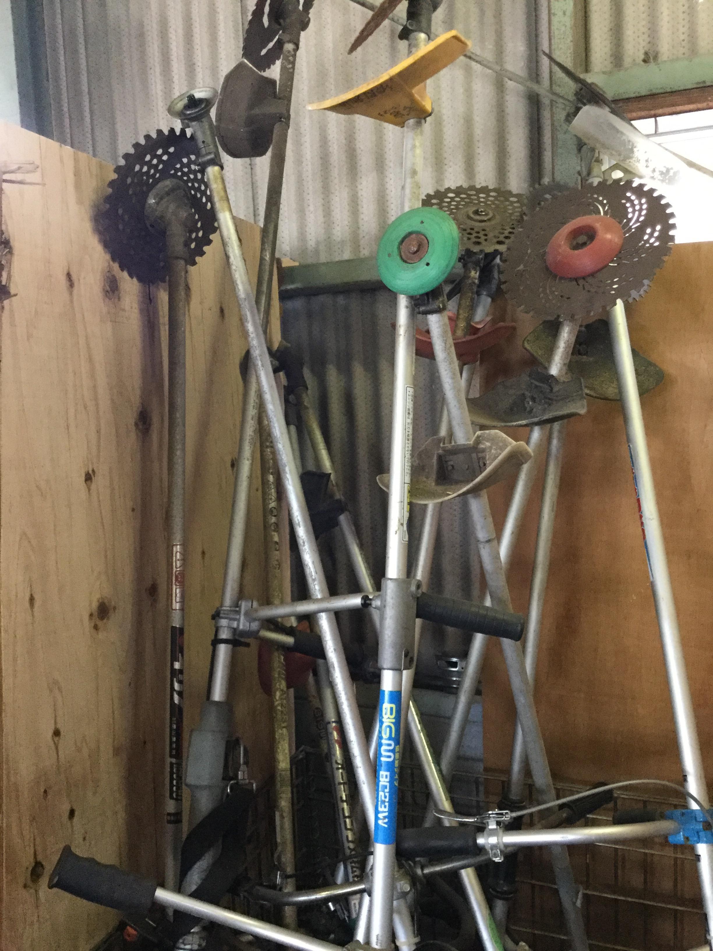草刈機です。