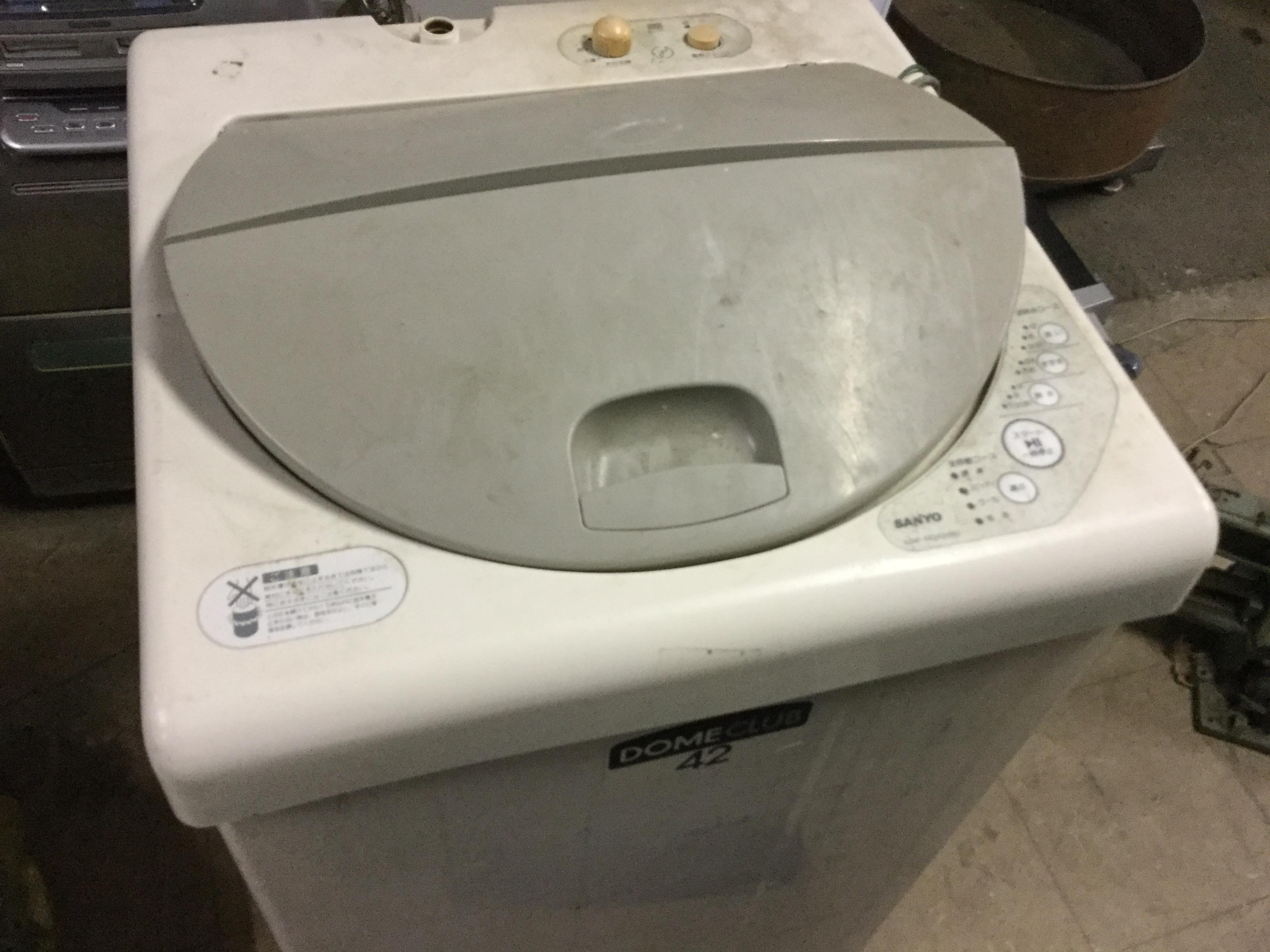 洗濯機です。