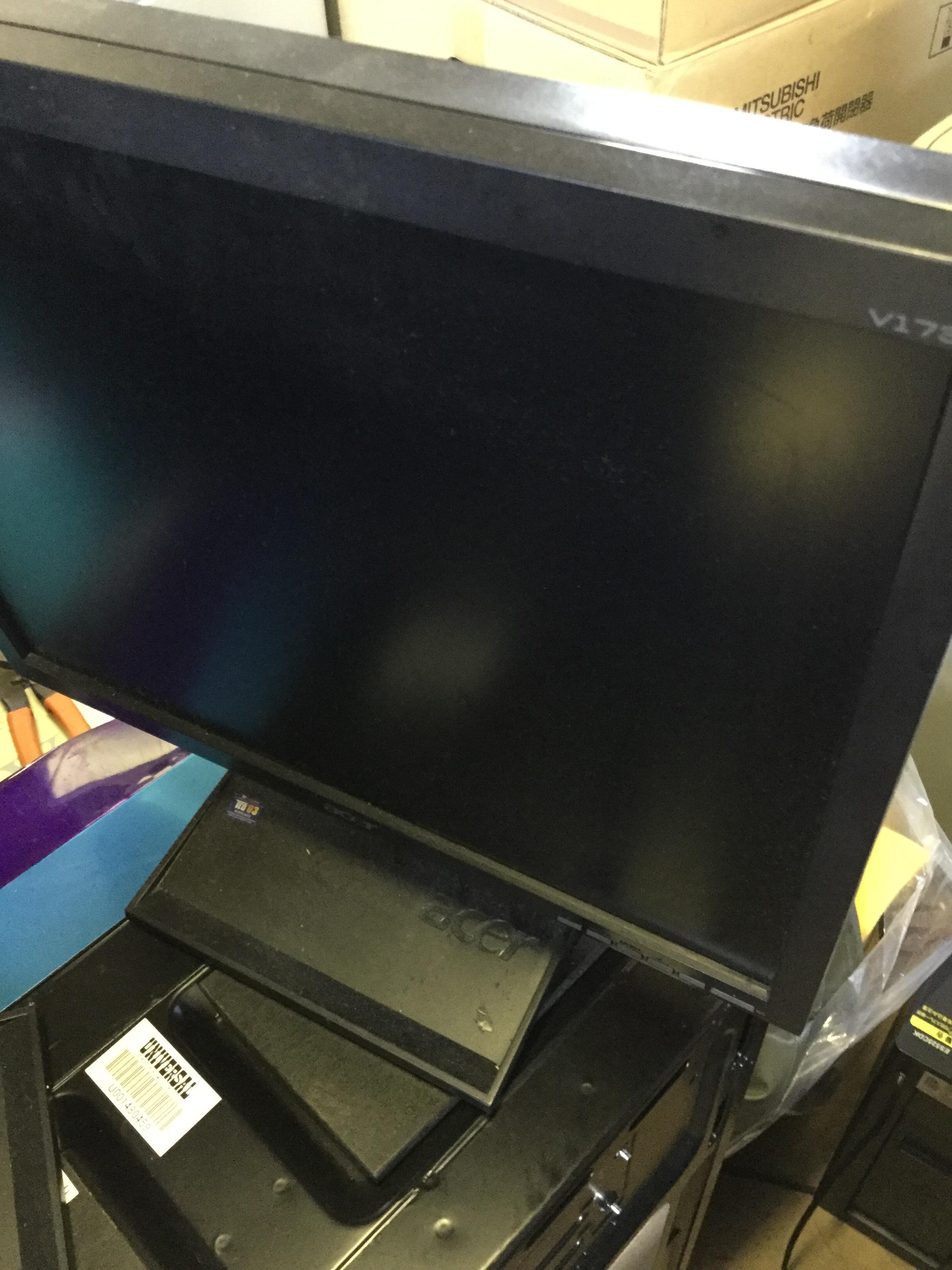 黒のテレビです。