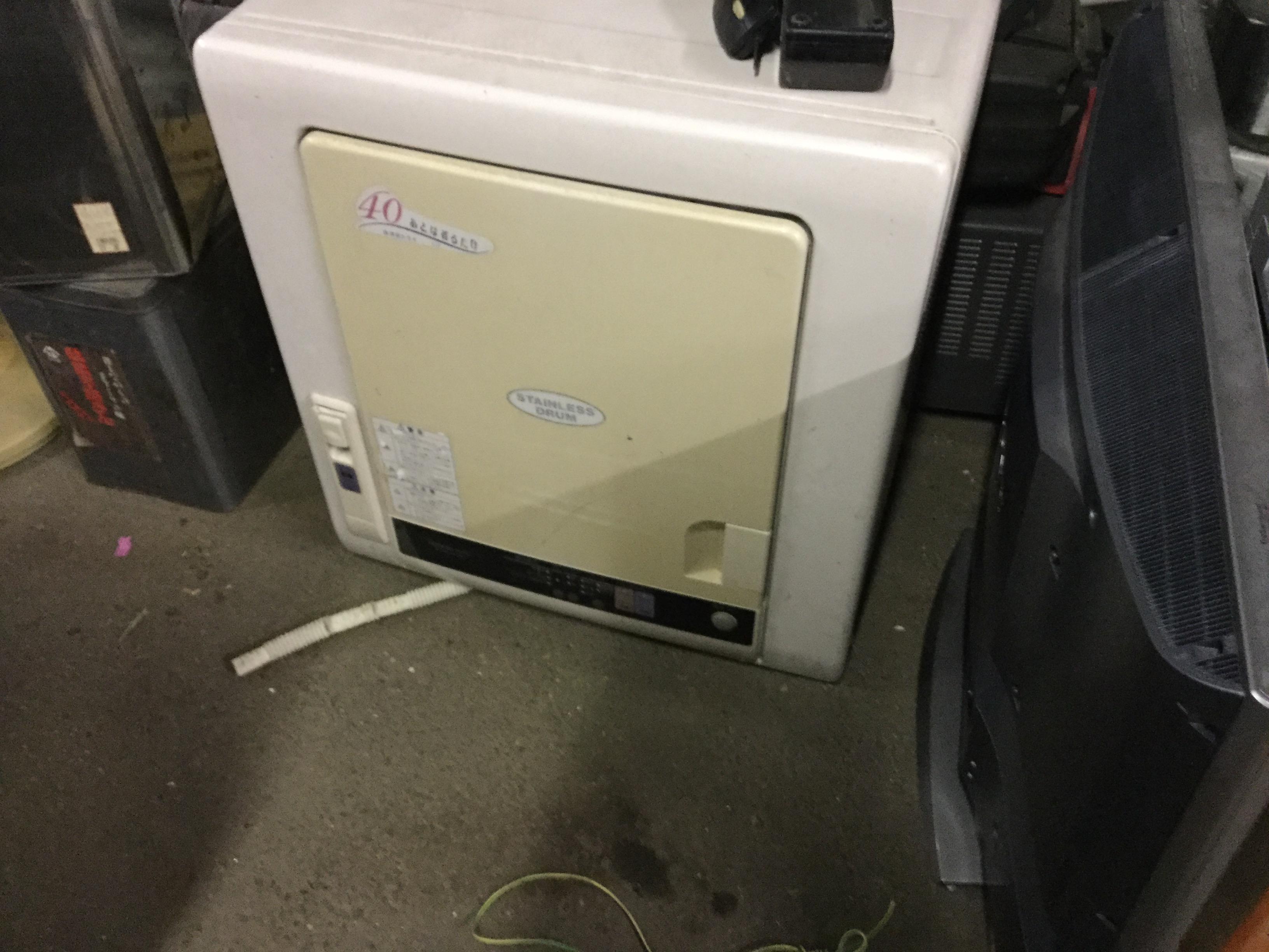洗濯乾燥機です。