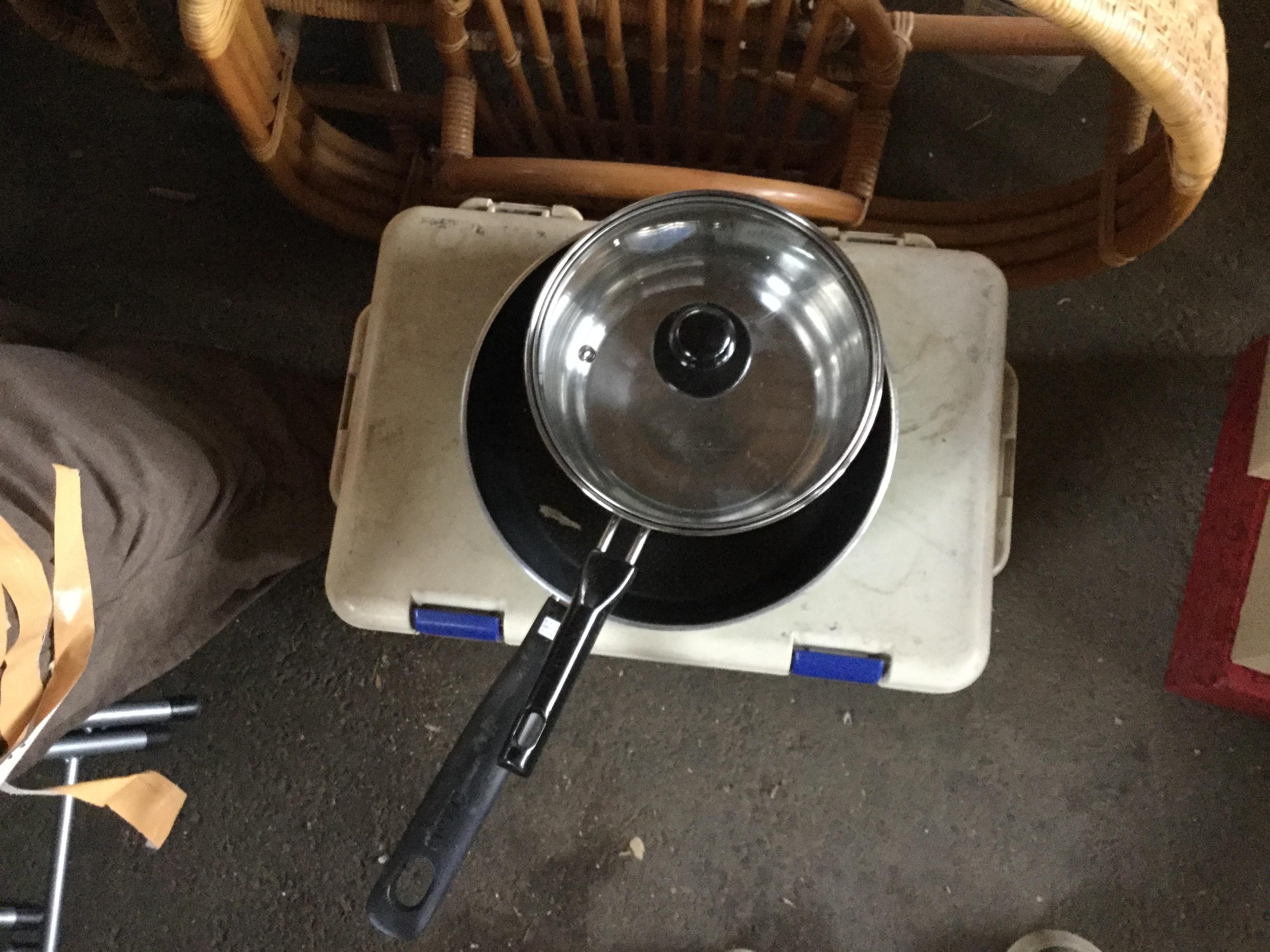 片手鍋です。