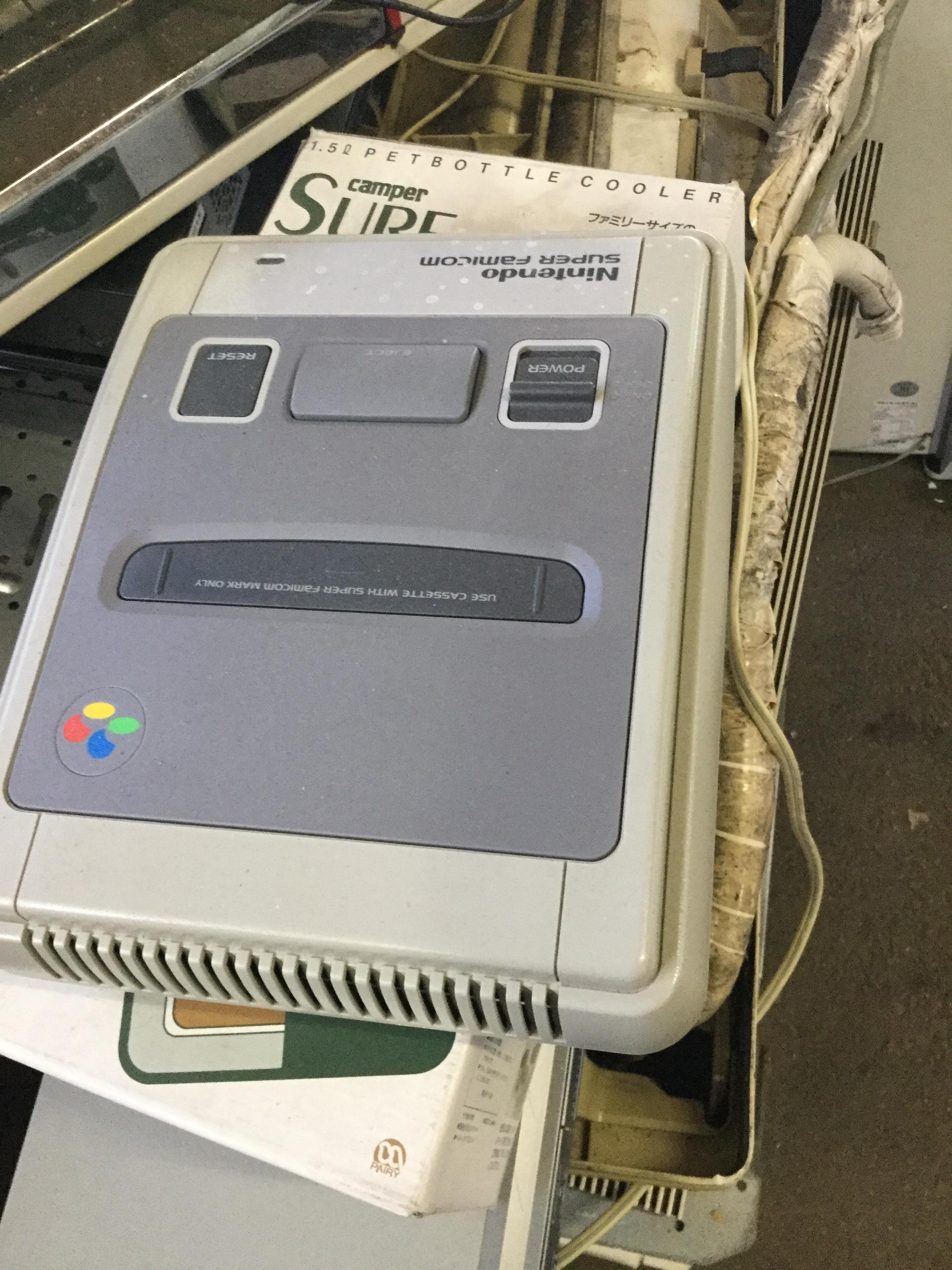 岡山市南区福田付近で回収した不用品のゲーム機です。