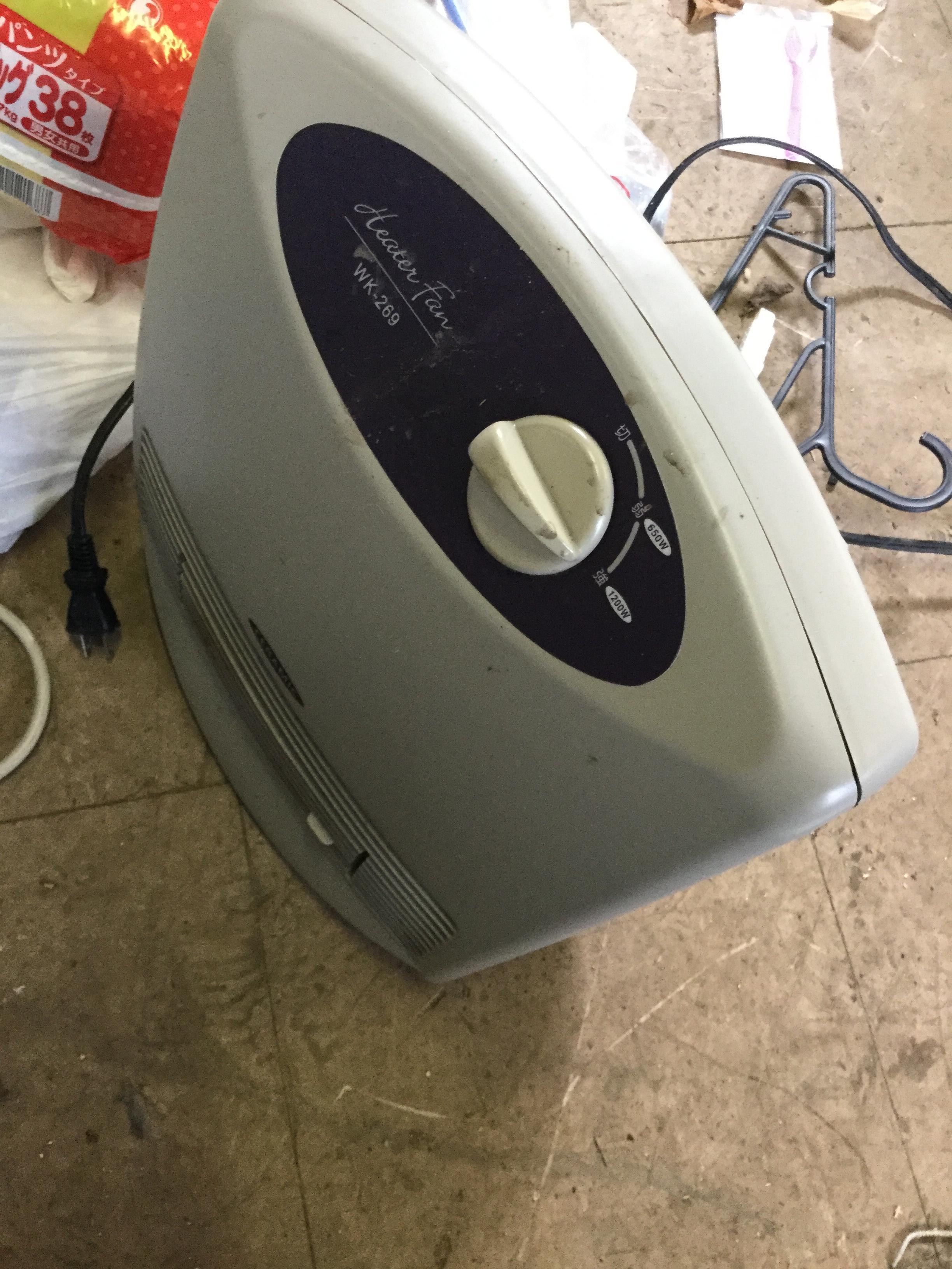 岡山県岡山市北区津高付近で回収した不用品の乾燥機です。