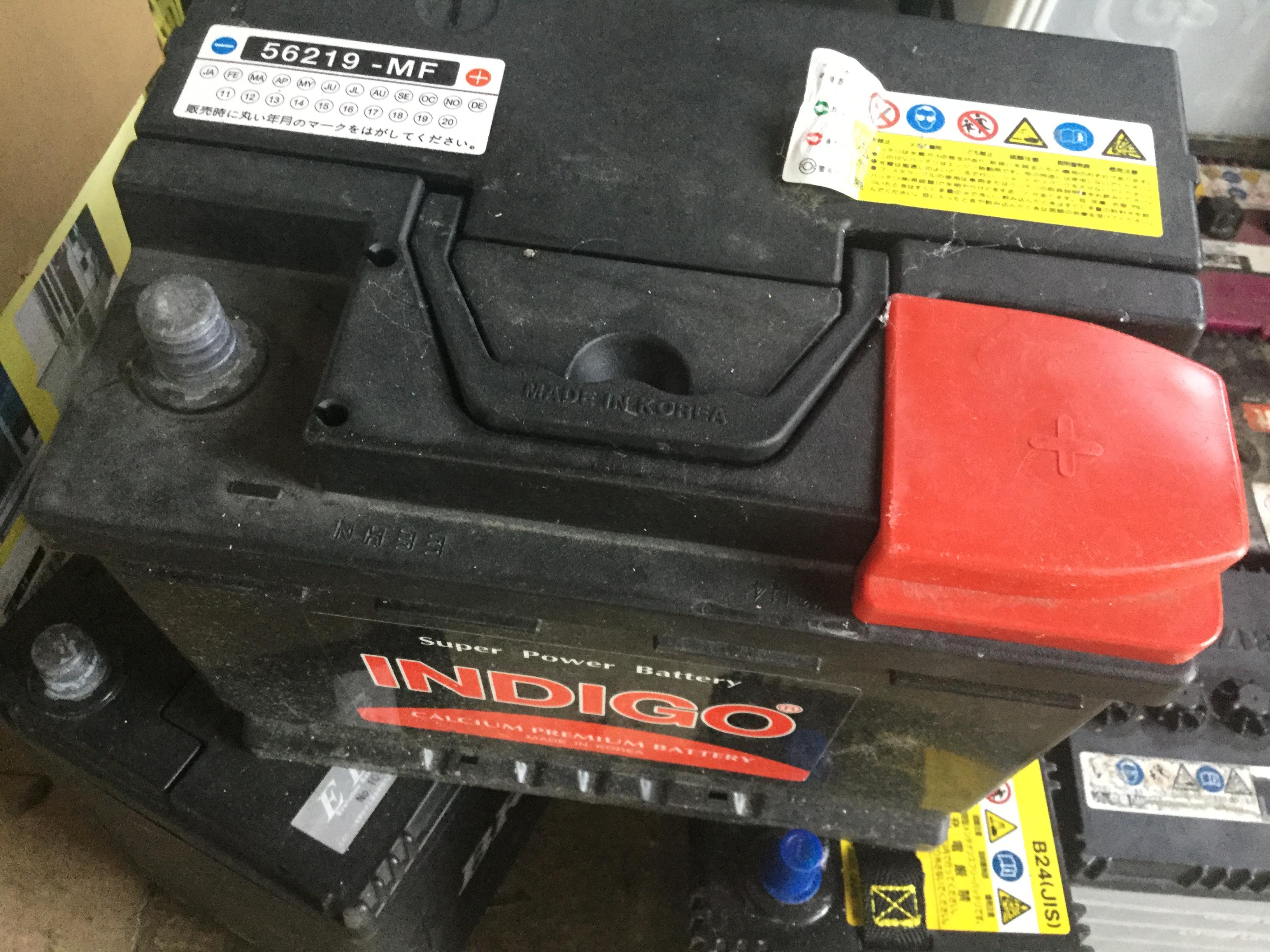 バッテリーです。