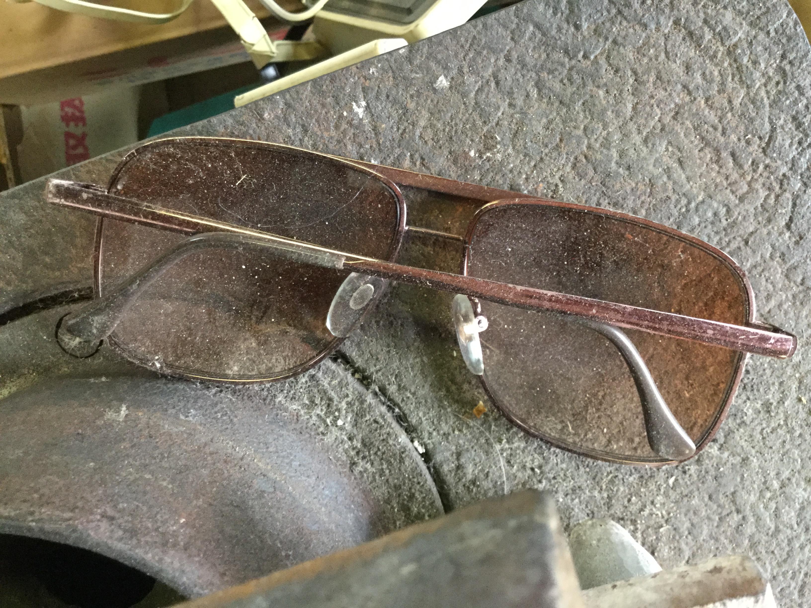 メガネです。