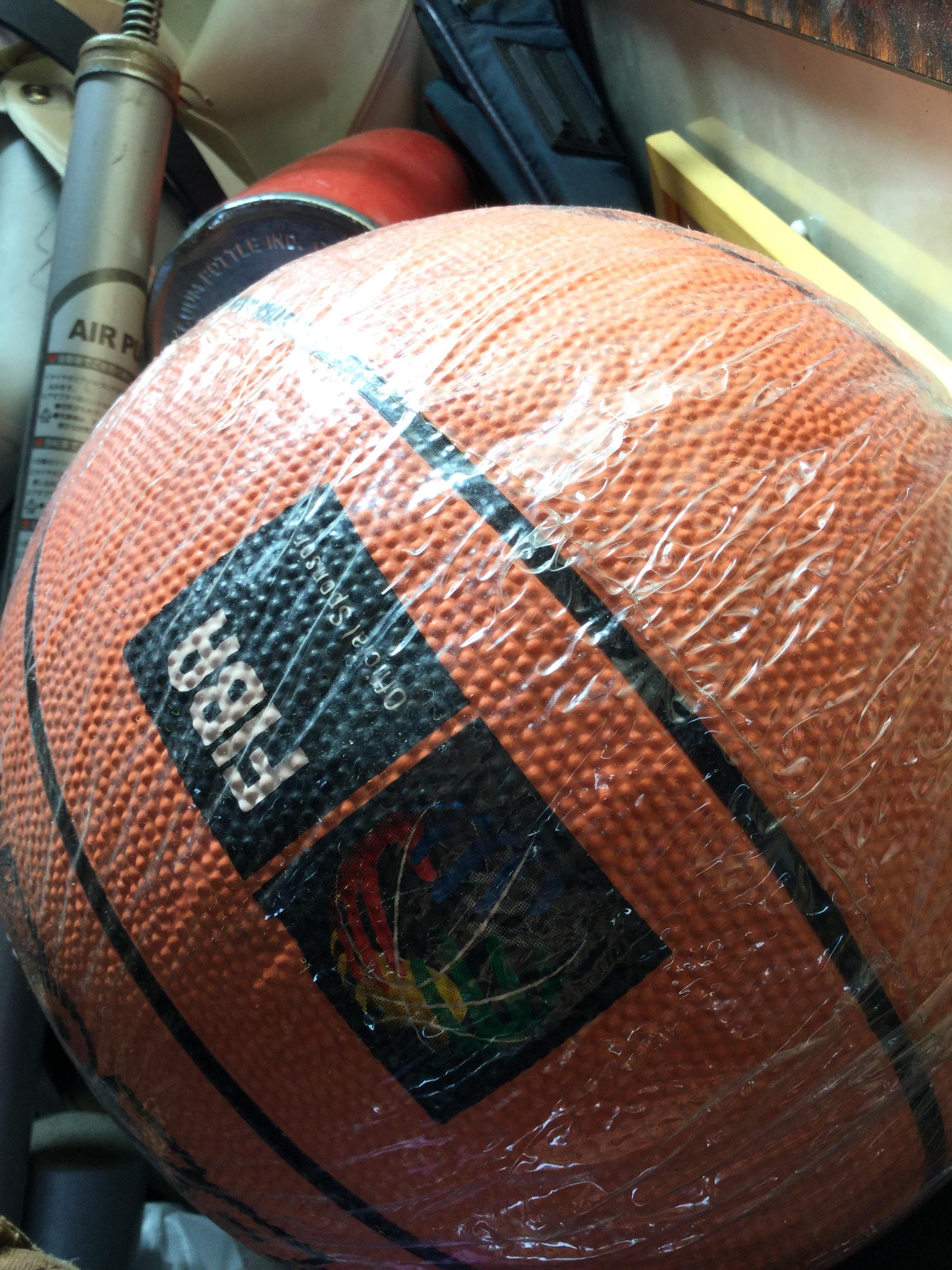 不用品のボールです。