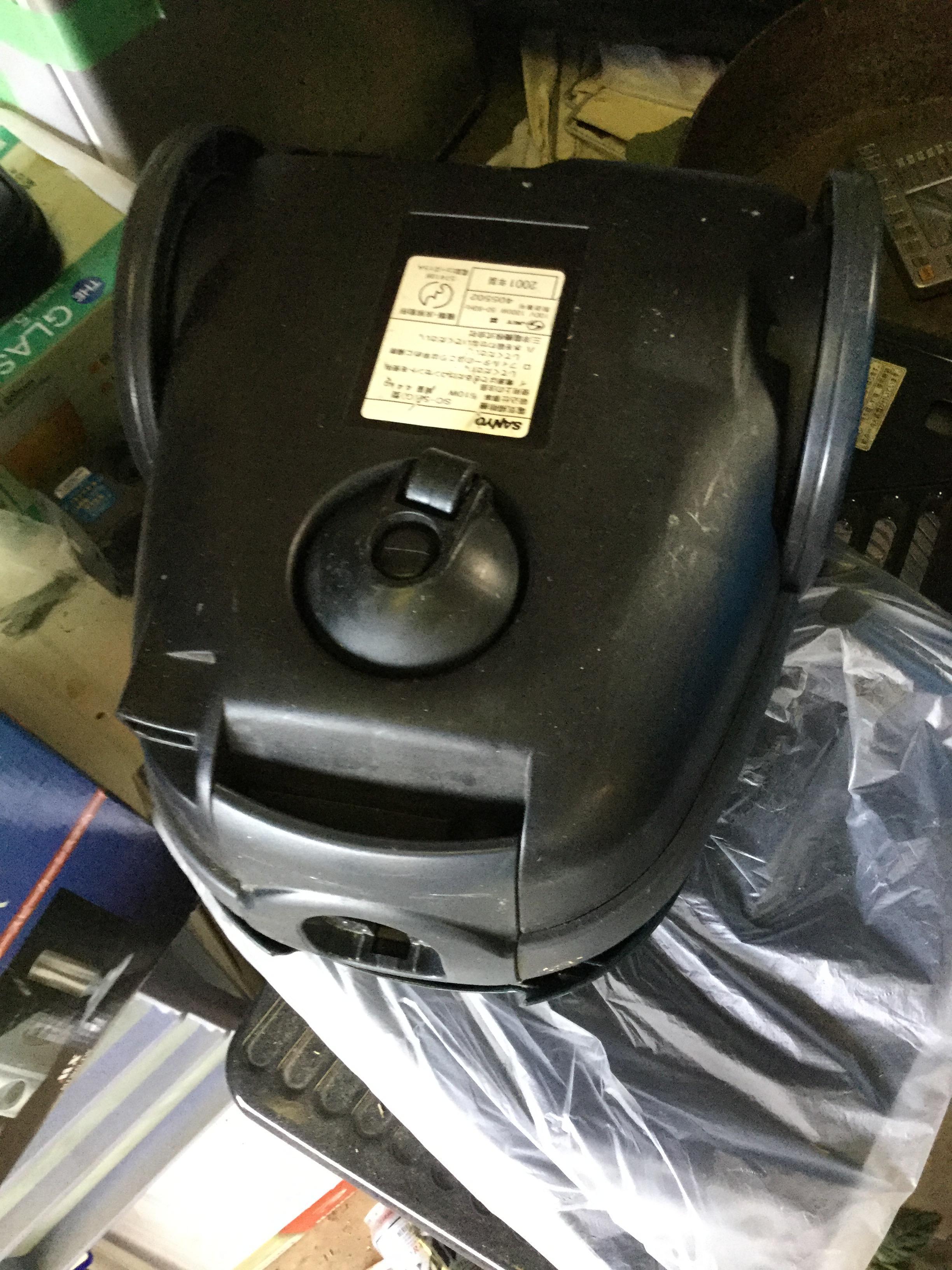 岡山県玉野市東紅陽台付近で回収した不用品の掃除機です。