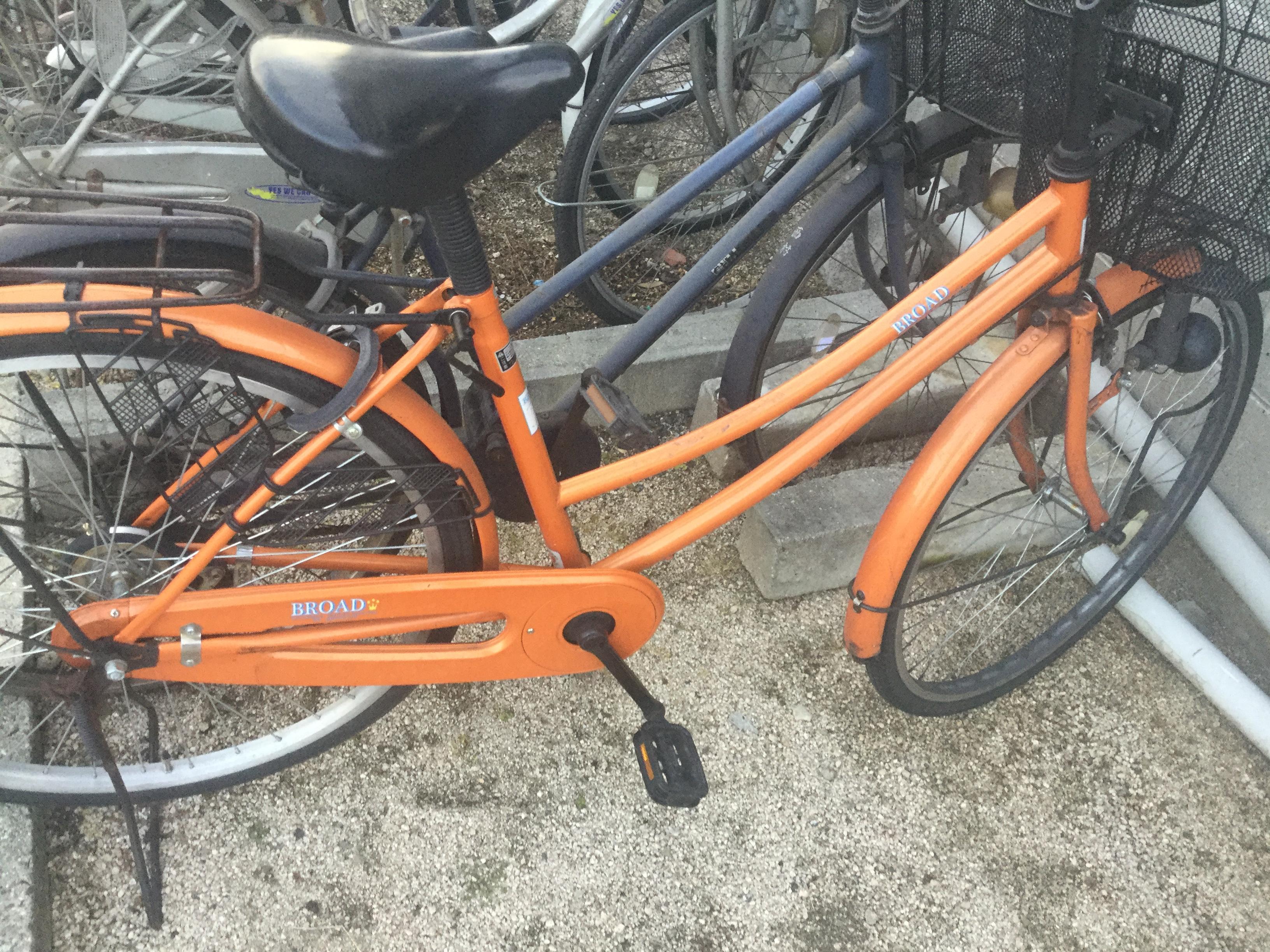 自転車③です。