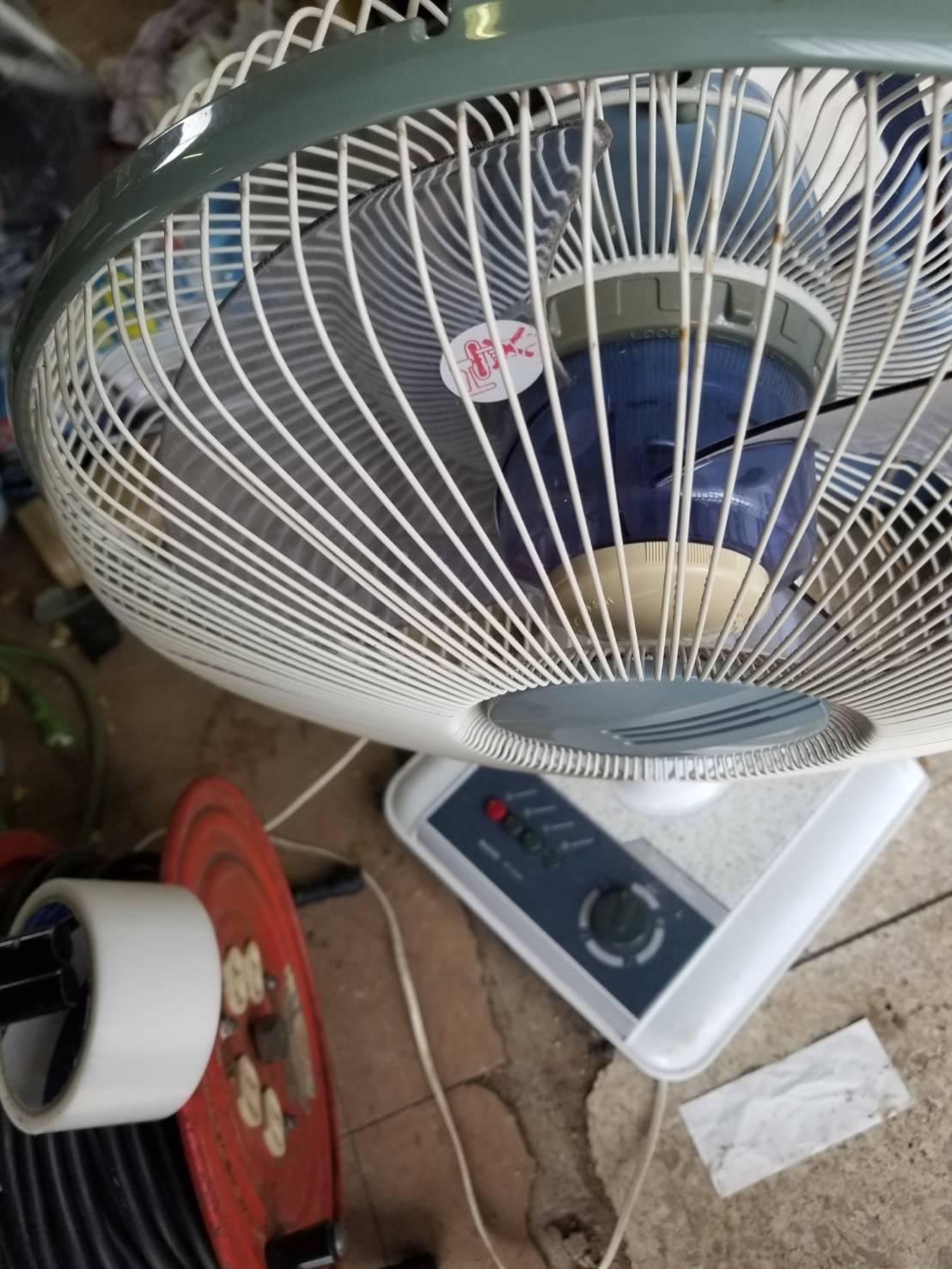 扇風機です。