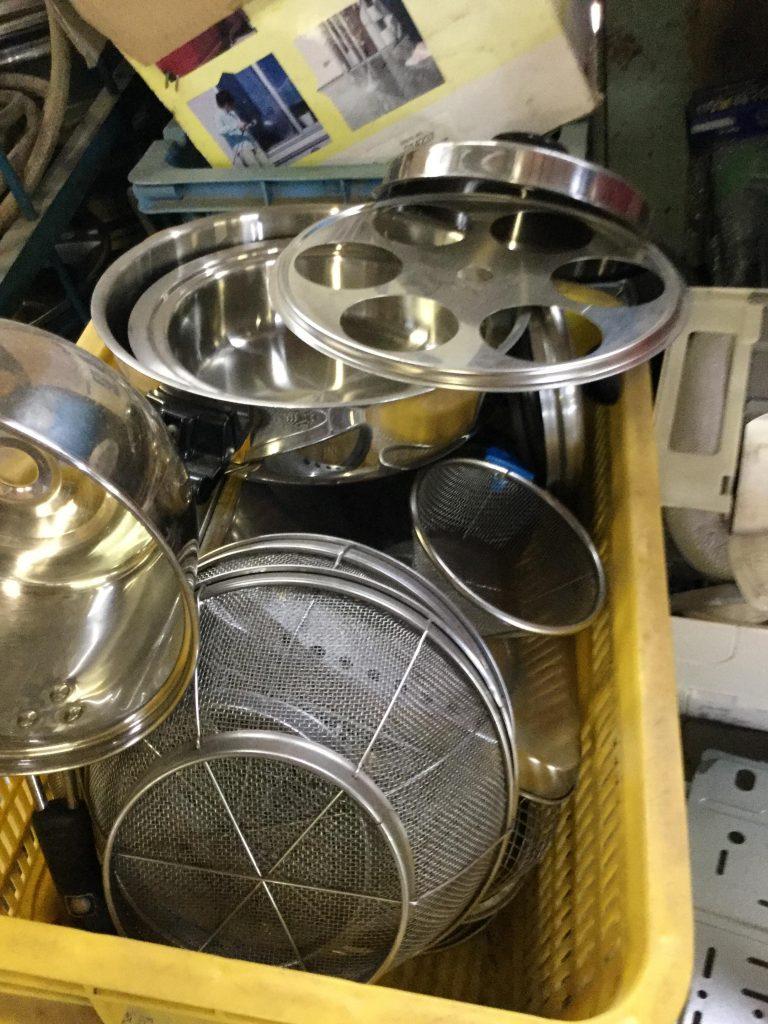 岡山市中区付近で回収させて頂いたキッチン用品