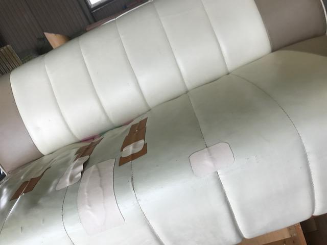 玉野市で不用品回収したソファー