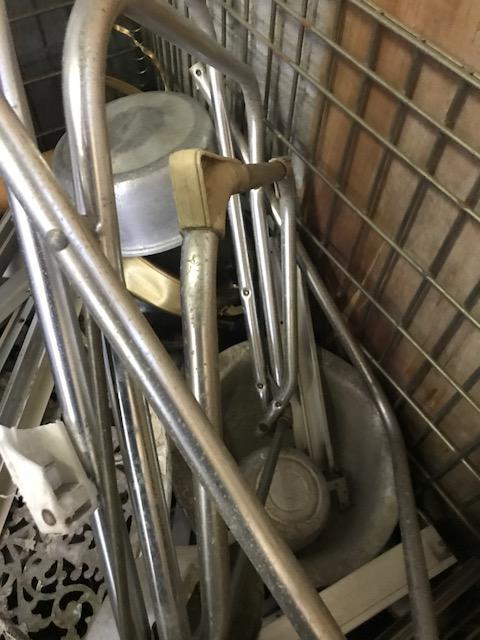 玉野市で不用品回収した鉄屑