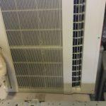 岡山市中区でのエアコン回収、エアコン処分