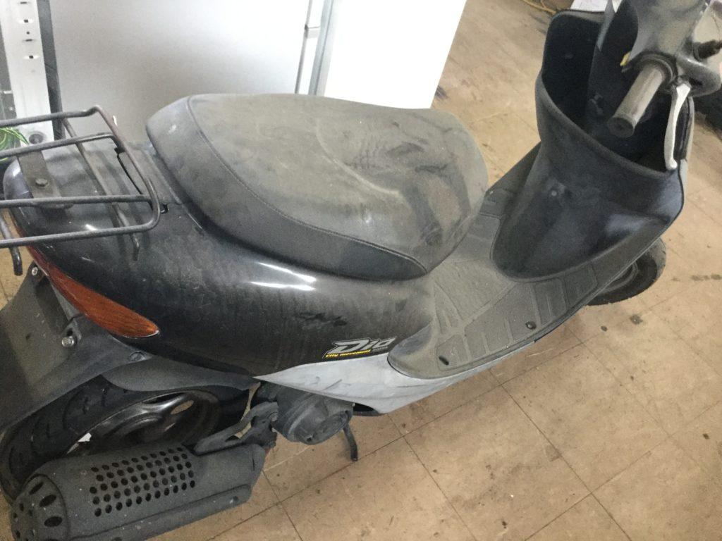 岡山県総社市でのバイクの回収から処理、処分
