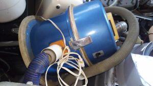 岡山県内で回収した掃除機
