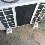 岡山県勝田郡奈義町で取り外し回収したエアコン
