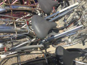 岡山県内で回収した自転車