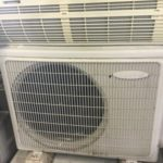笠岡市で回収したエアコン