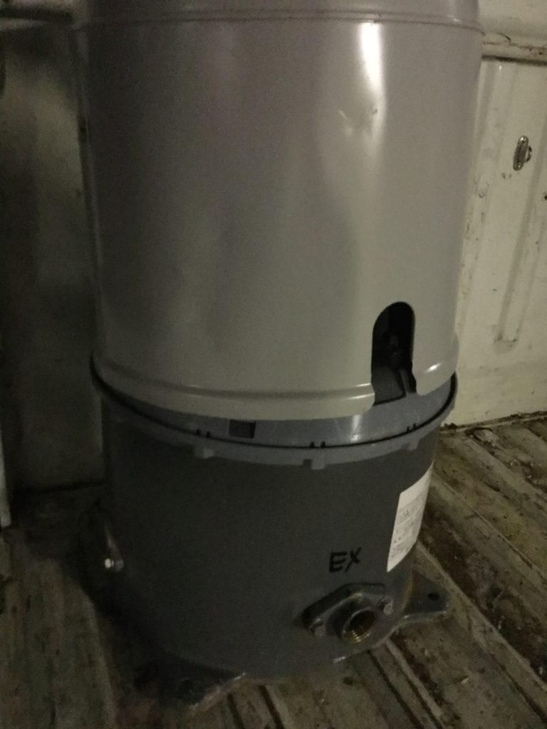 岡山県内で回収した井戸用ポンプ
