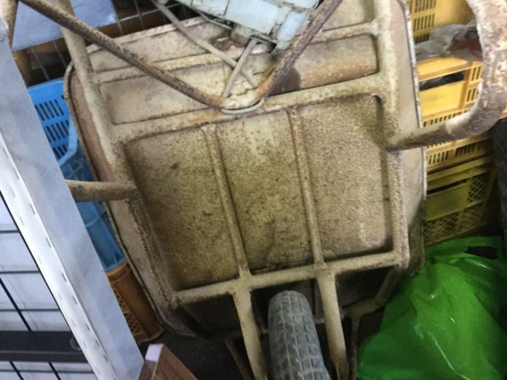 岡山県瀬戸内市長船町で不用品回収した一輪車