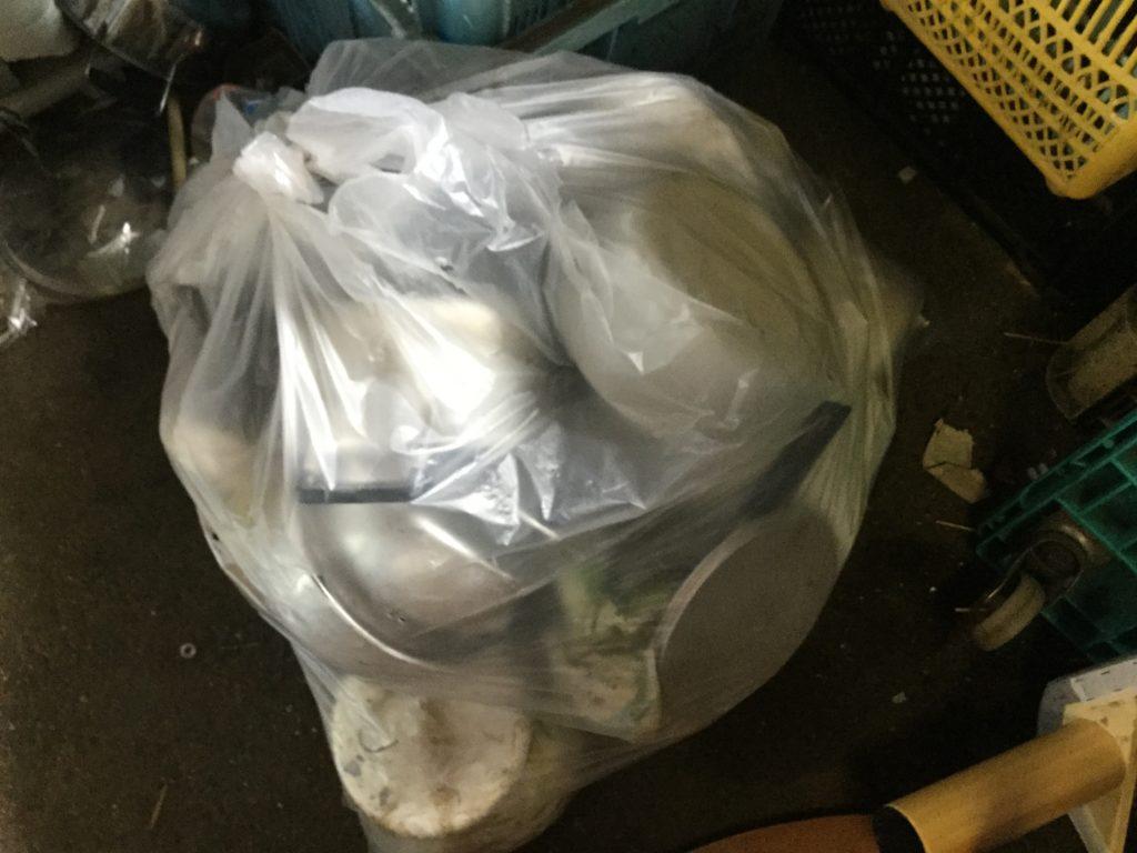 岡山県瀬戸内市長船町で不用品回収したキッチン用品