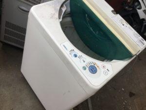 岡山県内で回収した洗濯機