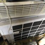 岡山県勝田郡勝央町で取り外し回収したエアコン