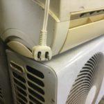 美作市で回収したエアコン