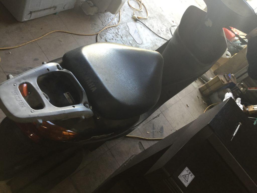 岡山県井原市でのバイクの回収から処理、処分