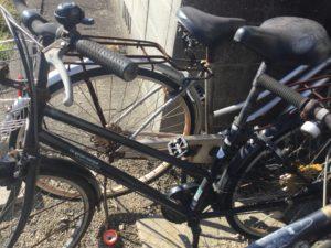 岡山市中区西川原での自転車の不用品回収品