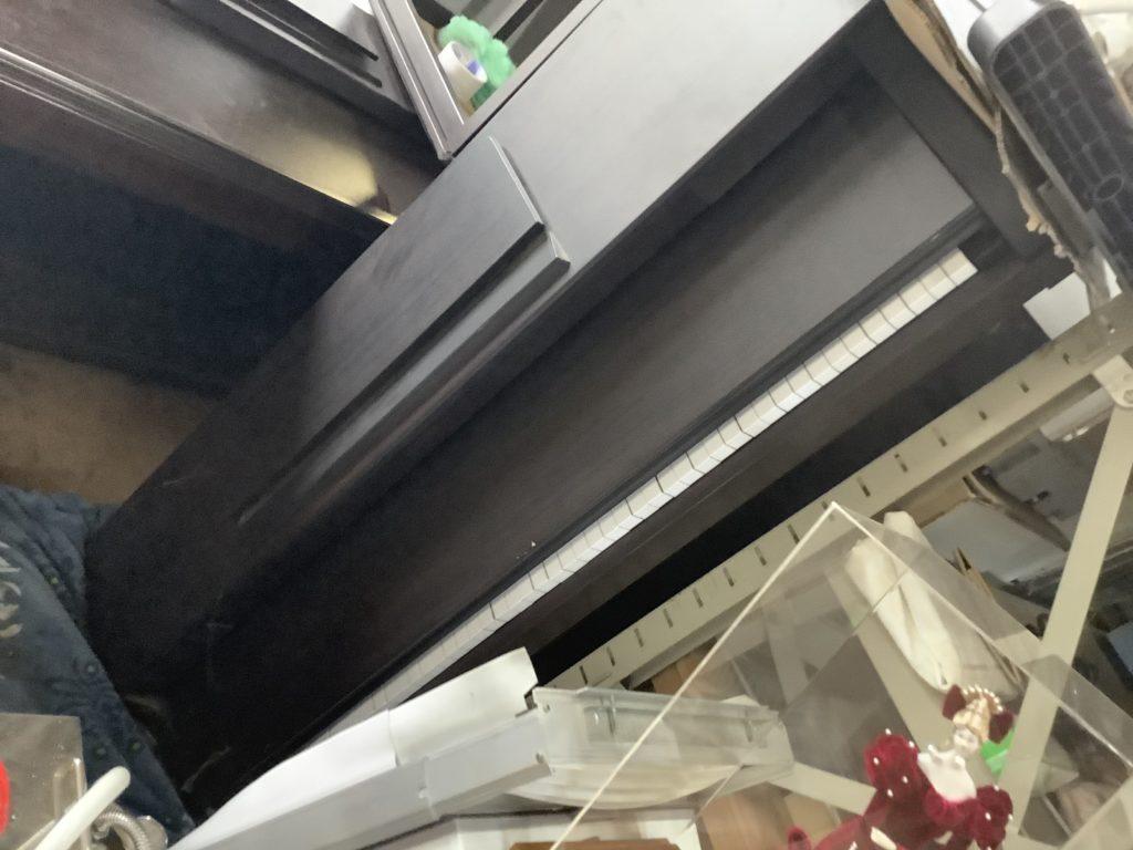 岡山県内で回収した電子ピアノ