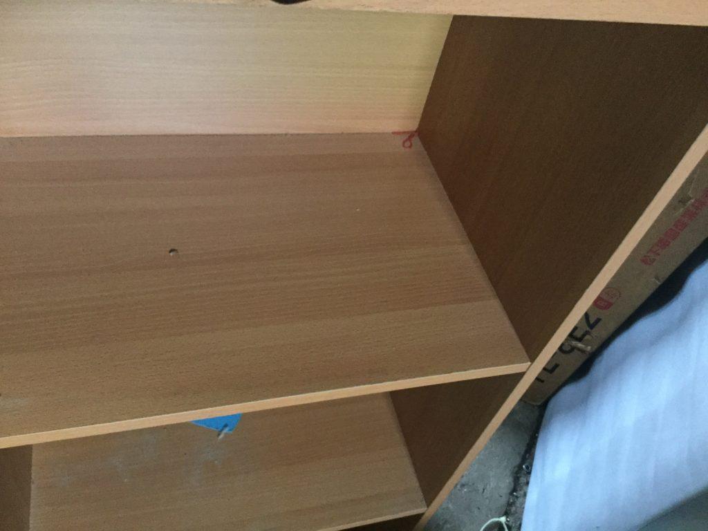 岡山県瀬戸内市長船町で不用品回収した本棚